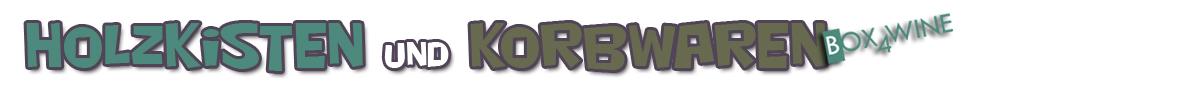 Holzkisten und Korbwaren-Logo