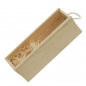 Preview: Wooden box with sliding lid for 1 bottle - Kopie - Kopie
