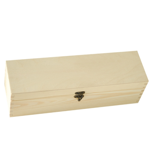 Wooden box with sliding lid for 1 bottle - Kopie