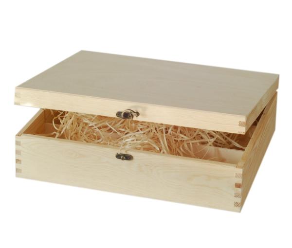 holzkisten kaufen weinkisten korbwaren holzkiste mit verschluss. Black Bedroom Furniture Sets. Home Design Ideas
